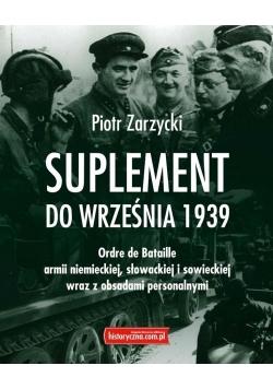 Suplement do września 1939