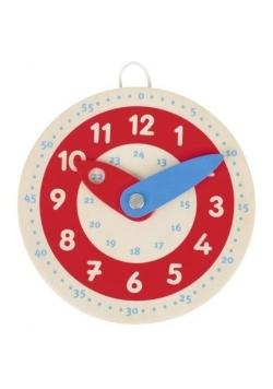 Zegar do nauki godzin mały