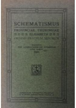 Schematismus Provinciae Thuringae, 1908 r.