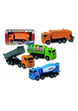 Pojazdy miejskie City Team, 4 rodzaje