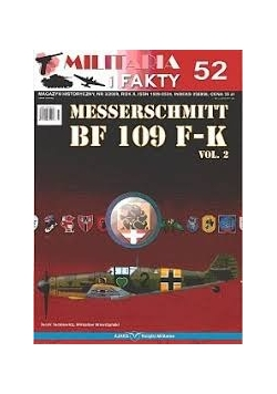 Messerschmitt BF 109 F-K, vol 2