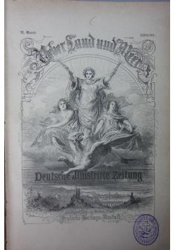 Ueber Land und Meer, 1889r.