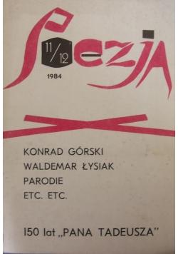Poezja, nr 11/12 1984r.