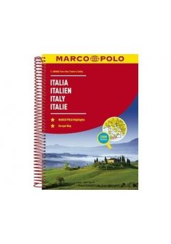 Atlas Marco Polo, Włochy 1:300 000 Spirala