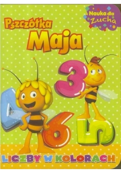 Pszczółka Maja. Nauka dla zucha. Liczby w kolorach