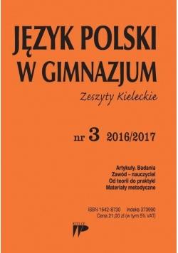Język Polski w Gimnazjum nr 3 2016/2017