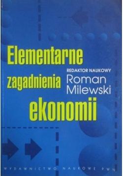 Elementarne zagadnienia ekonomii