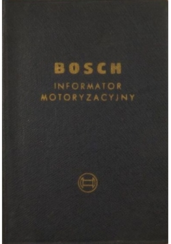 Bosch. Informator motoryzacyjny