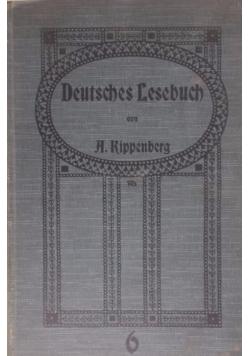 Deutsches Lesebuch, 1910 r.