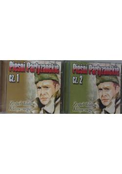 Pieśni Partyzanckie, część 1,2 - zestaw 2 płyt CD