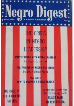 Negro digest. The crisis in negro leadership