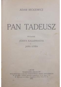Pan Tadeusz, 1921 r.