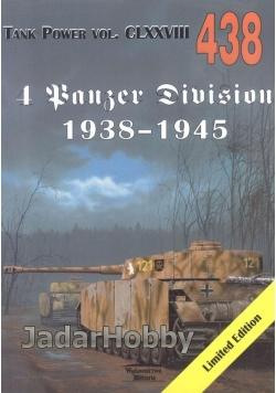 Militaria 438 4 Panzer Division 1938-1945