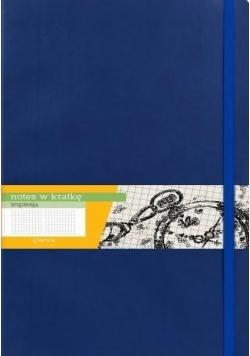 Notes A6 Kratka Impresja Granat ANTRA