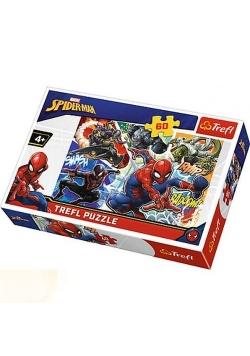 Puzzle 60 Waleczny Spider-Man