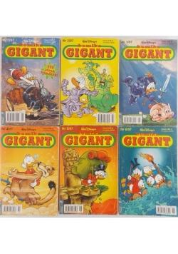 Komiks GIGANT, zestaw 6 książek