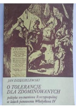 O tolerancje dla zdominowanych