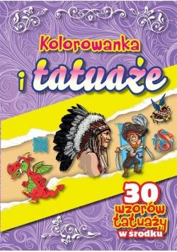 Kolorowanka i tatuaże