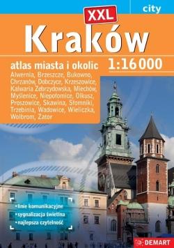 Atlas miasta - Kraków plus XXL 1:16 000