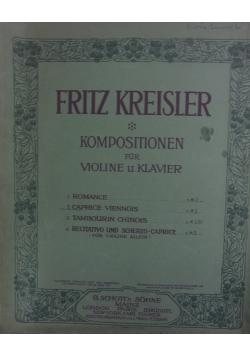 Kompositionen fur Violine u.Klavier