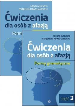 Ćw. dla osób z afazją. Formy gram. cz.1-2 komplet