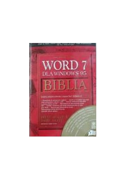 Word 7 dla Windows 95 Biblia