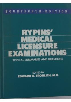 Rypins' Medical Licensure Examinations