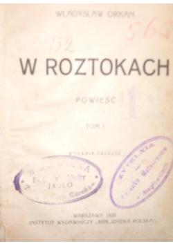 W roztokach, tom I, 1920 r.
