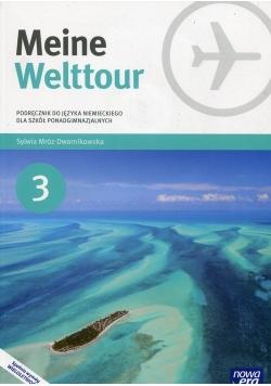 Meine Welttour Język niemiecki 3 Podręcznik + CD