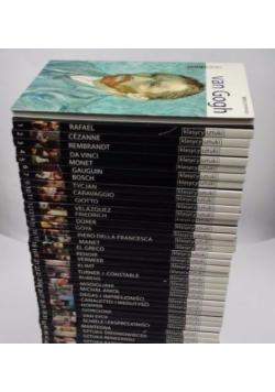 Kolekcja Klasycy Sztuki, 37 tomów