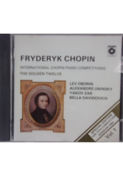 International Chopin Piano Competitions Vol.1