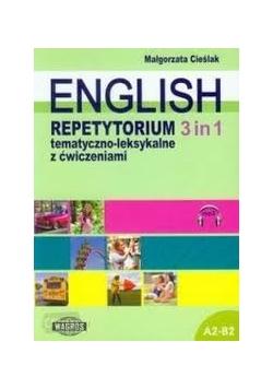 English. Repetytorium 3 in 1