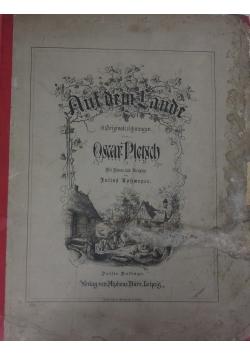 Auf dem Lande original - Beichnungen, 1875 r.