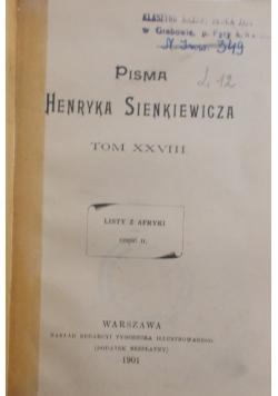Pisma - Tom XXVIII 1901 r.