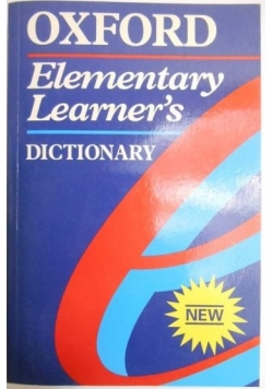 Elementary Learner's. Dictionary