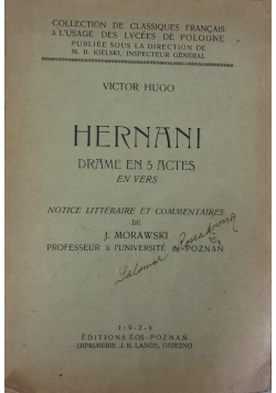 Hernani, 1929r.