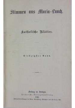 Stimmen aus Maria-Laach: katholische Blätter, 1906 r.