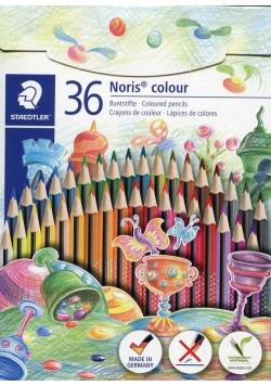 Kredki Noris colour Wopex trójkątne 36 kolorów