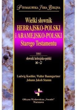 Wielki słownik hebr.- pol./aram.- pol. ST (2 Tomy)