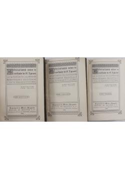 Meditations selon la methode - Zestaw 3 książek