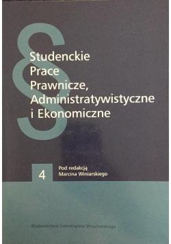Studenckie prace prawnicze, administratywistyczne i ekonomiczne, Nowa