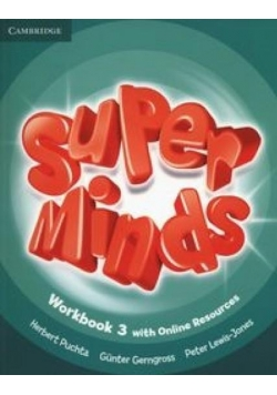 Super Minds 3 WB Online Resources CAMBRIDGE