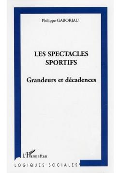 Les spectacles sportifs