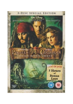 Pirates of the Caribbean Dead Man's Chest, DVD