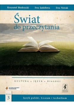 J.Polski LO Świat do przeczytania 3 w.2014 NPP