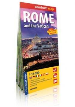 Comfort!map Rzym i Watykan 1:15 000 plan miasta