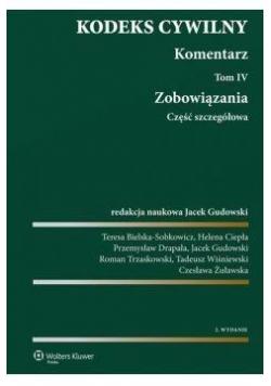 Kodeks cywilny Komentarz T. 4-5 Zobowiązania...