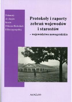 Protokoły i raporty zebrań wojewodów i starostów