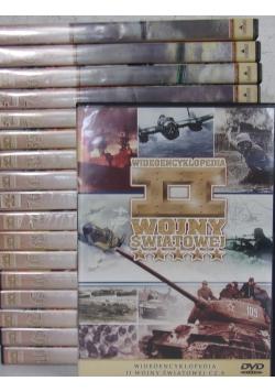 Wideoencyklopedia II wojny światowej, zestaw 18 płyt DVD