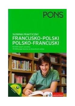 Słownik praktyczny francusko-polski, polsko-fran.